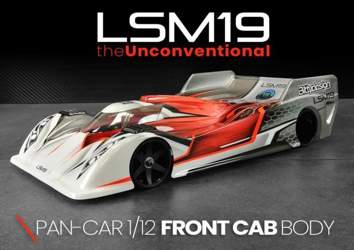 Bittydesign LSM19 1/12 Pan-Car Clear Body