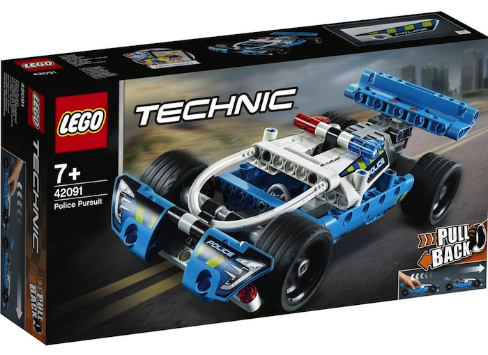 LEGO Technic- Police Pursuit In-depth Review - 42091
