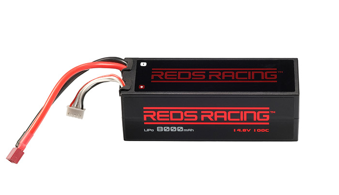 Reds Racing 4S LiPo Packs