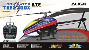 Align T-Rex 300X SC 3D Helicopter Ready To Fly