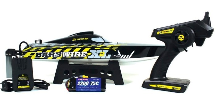 Atomik: Barbwire XL 2 - Brushless RC Racing Boat