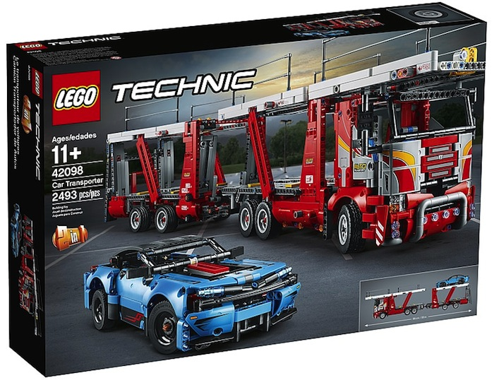 LEGO Technic 42098 Car Transporter box