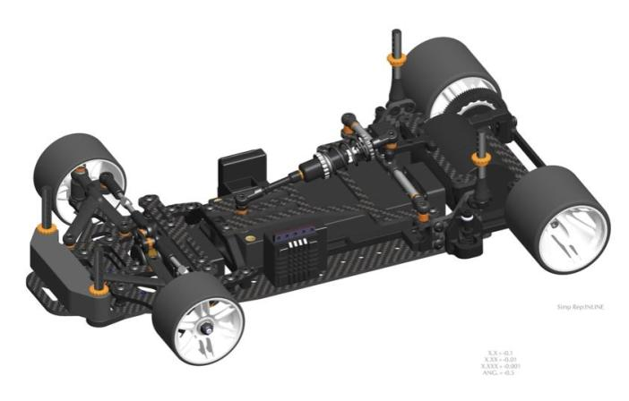 Serpent: PR120 Pro 1/12th scale pan car kit