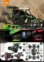 Team Magic: SETH 1/8 EP 4WD Desert Buggy - RTR