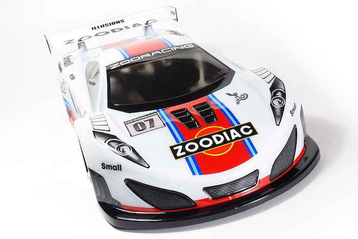 ZooRacing: Zoodiac 190mm GT body shell