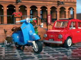 LEGO: Build a replica of a Vespa