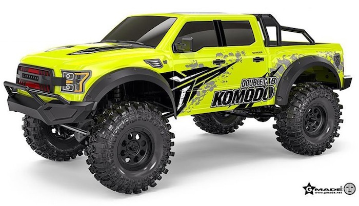Gmade: KOMODO GS02 Double Cab - Video