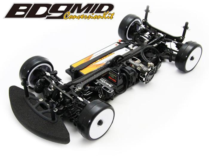 BD9 MID Motor conversion kit