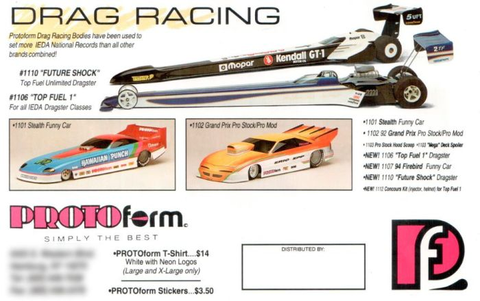 protoform drag racing 80s