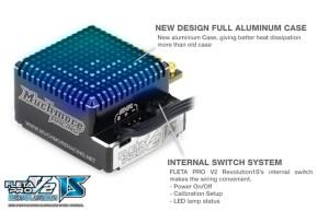 1900KV MR-1900FZX8EV Muchmore FLETA ZX8 Evolution 1//8th Scale Brushless Motor