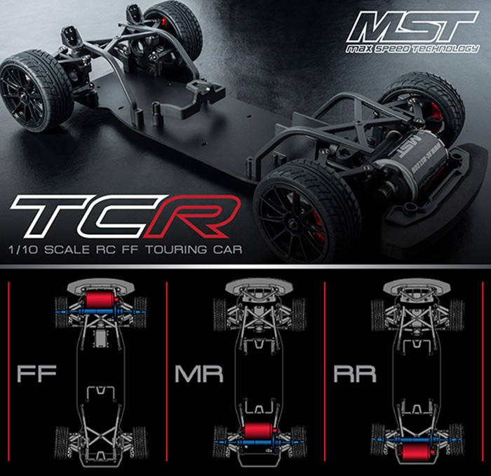 TCR-FF 2WD Touring Cars