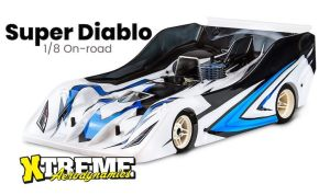 Xtreme Aerodynamics Super Diablo 1/8th Scale body