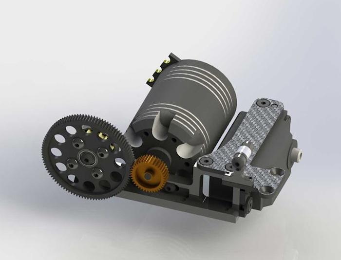 Mugen: Performance Parts MTC1 FWD conversion
