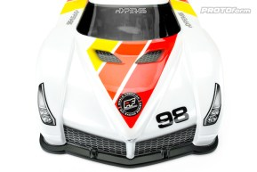 PROtoform Hyper-SS Clear Body Shell GT 1/8th Scale