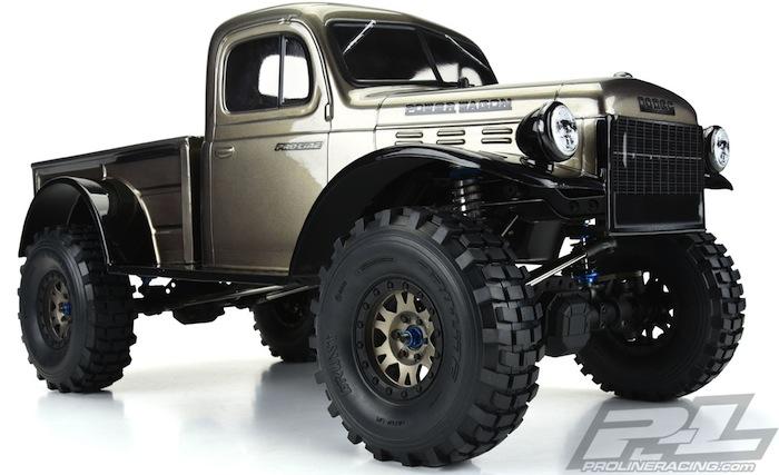 """Pro-Line: Grunt 1.9"""" G8 rock terrain truck tyres"""
