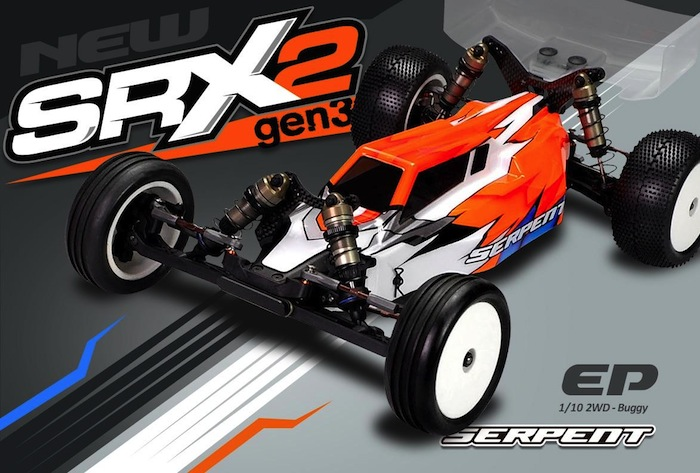 Serpent: SRX2 Gen3 2wd Buggy Kit