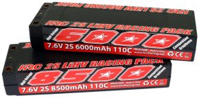 HRC Racing: 2S LiHV Racing Battery Packs