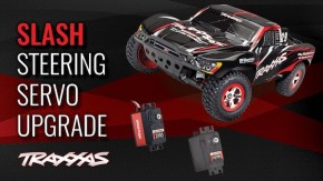 Traxxas: Replace the Slash 2WD Plastic-Gear Steering Servo