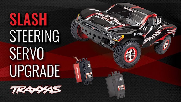 Slash 2WD Plastic-Gear Steering Servo
