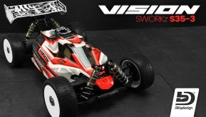 Bittydesign: S35-3 Vision Nitro Buggy Body Shell