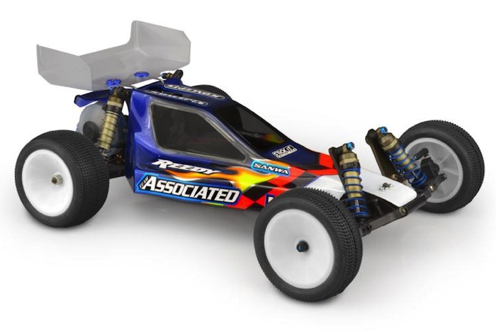 JConcepts have introduced their authentic Team Associated RC10B3 body shell.
