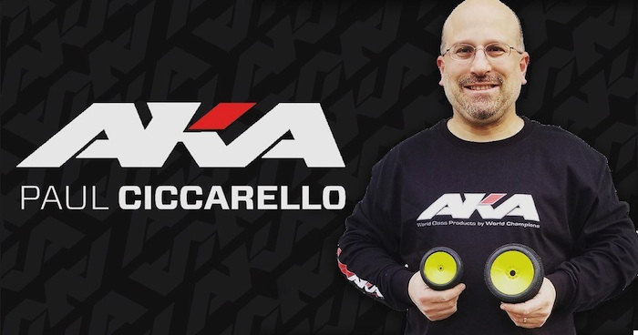 Paul Ciccarello signs with AKA Products