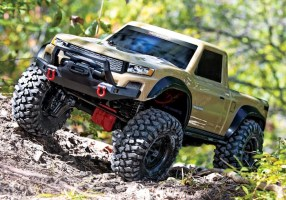Traxxas TRX4 Sport: Desert Tan Scale Crawler - Video