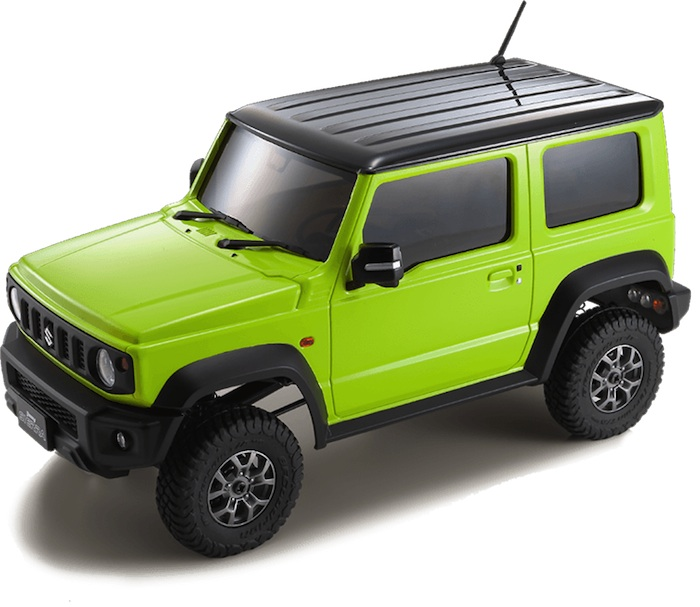 KYOSHO: SUZUKI Jimny Sierra - Video