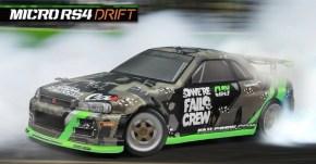 HPI: Micro RS4 Drift Fail Crew Nissan Skyline R34 GT-R