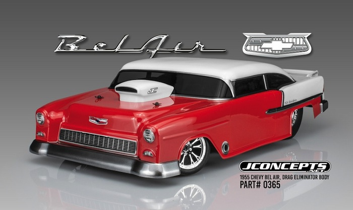 JConcepts: 1955 Chevy Bel Air Drag Eliminator Body