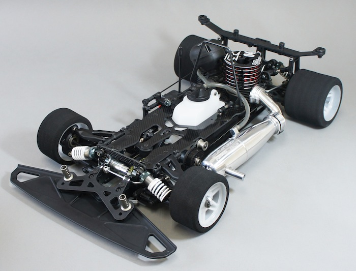 Mugen Seiki: MRX6X 1/8 Nitro On-Road racing car