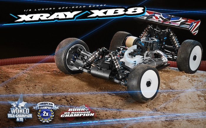 XRAY: 2020 XB8 1/8 Nitro Racing Buggy