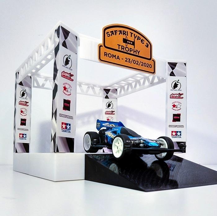 Mini 4WD Sport 3D Printing