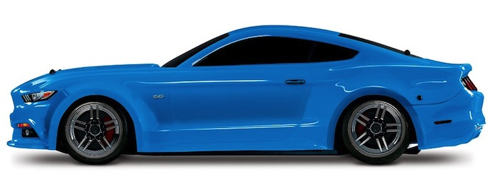Traxxas: Mustang GT 4-Tec 2.0 in new colors