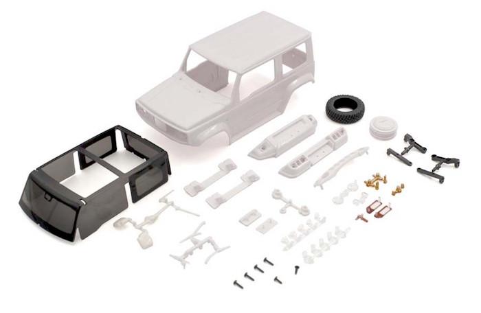 Kyosho: MiniZ Suzuki Jimny Sierra White Body Set
