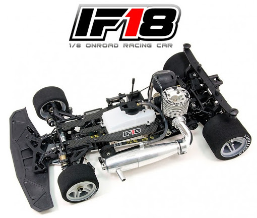 Infinity: IF18 1/8 GP Racing Car - Top deck video