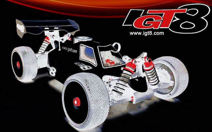 IGT8: B8 2021 nitro buggy kit