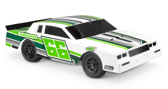 JConcepts 1987 Chevy Monte Carlo Street Stock Body