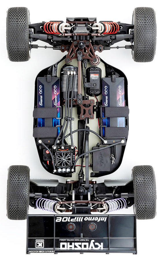 Kyosho: Inferno MP10e 1/8th brushless buggy