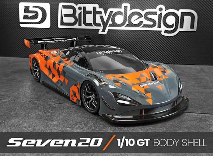 Bittydesign: 190mm GT Seven20 Body