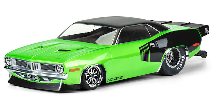 ProLine- 1972 Plymouth Barracuda Clear Body 0