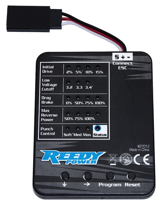 Reedy: SC480X Crawler ESC & Program Card