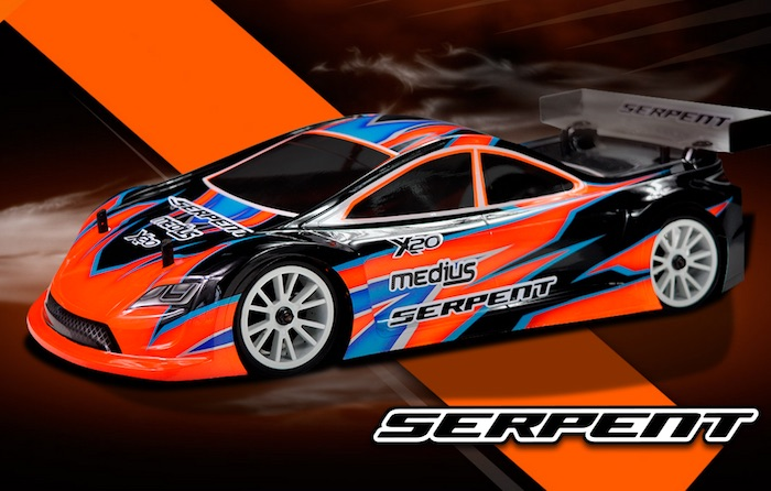 Serpent: X20 '21 Medius 1/10 Touring car