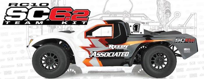 Team Associated: SC6.2 Short Course team Kit
