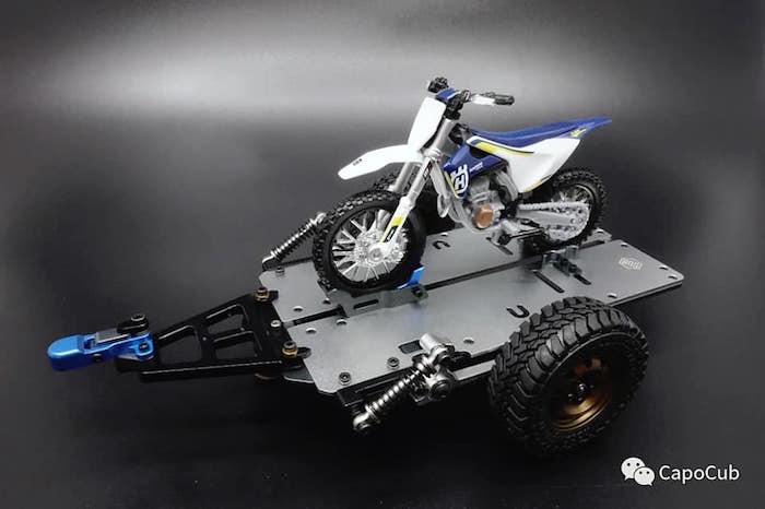 Kaioz Model Studio Motorcycle Trailer