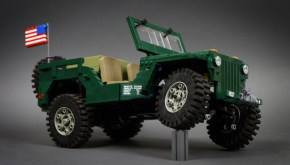 LEGO: 4×4 Jeep Willys with downloadable instructions!
