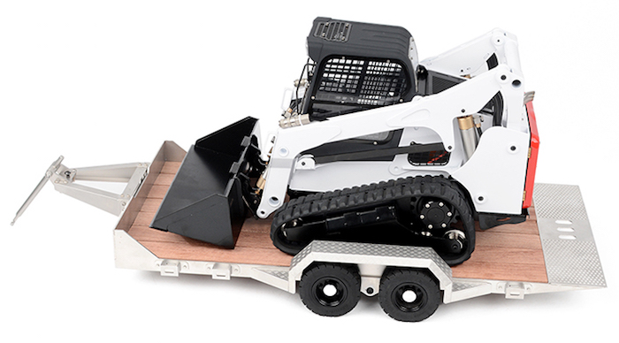 RC4WD- R350 Compact Track Loader RTR trailer