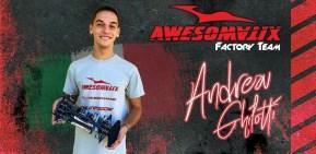 Andrea Ghilotti joins Awesomatix