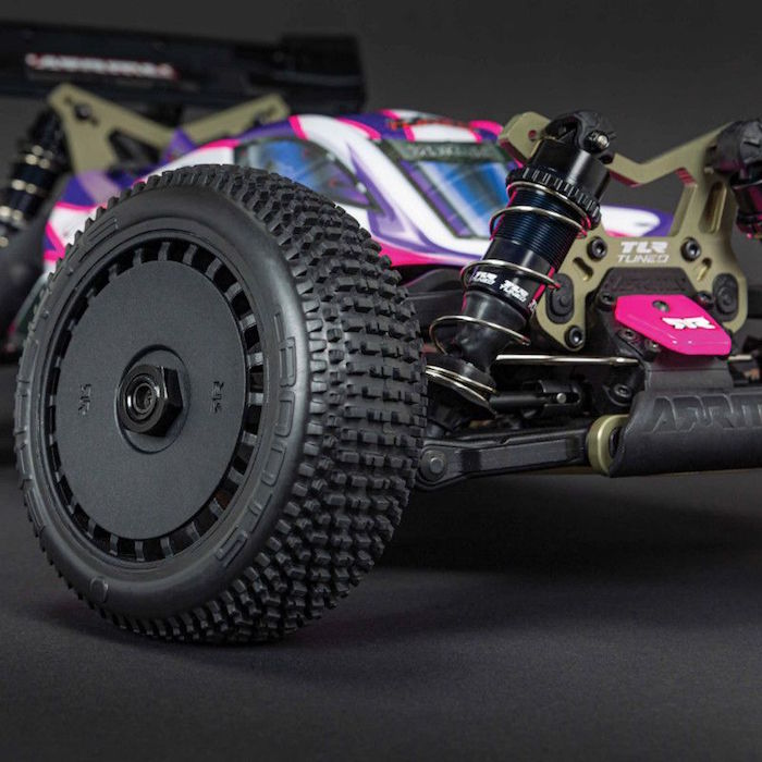 ARRMA: TLR Tuned TYPHON 1/8 Race Buggy 4WD Roller