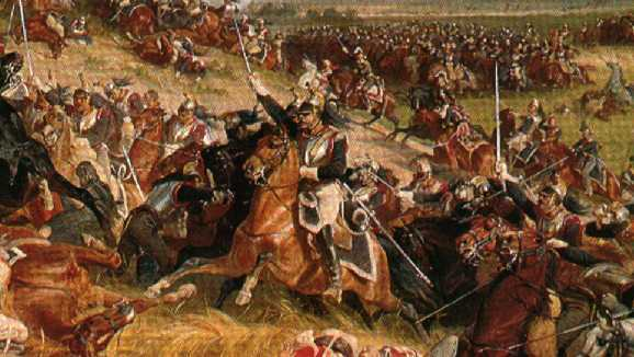 ejercito prusiano en Waterloo